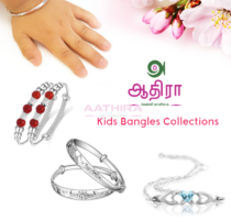 Kids Silver Kids Bangles Collections