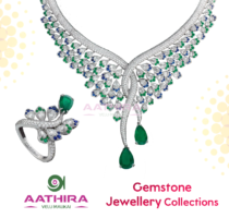Gold and Silver Stone Jewellery