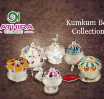 Silver Kumkum Box Collection